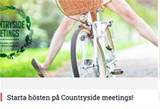 Starta hösten på Countryside meetings!