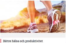 Bättre hälsa och produktivitet