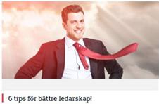 6 tips för bättre ledarskap!