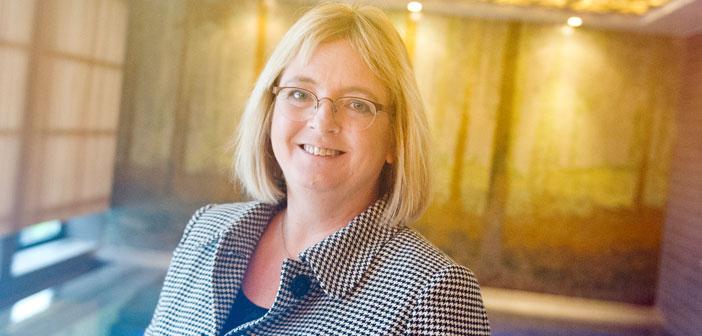 Gabriella Persson-Klahr, vd på Skepparholmen konferens.